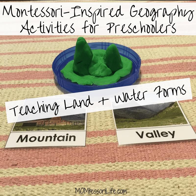 Montessori Inspired Geography Activities For Preschoolers