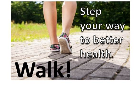 Walking is the easiest form of exercise available.
