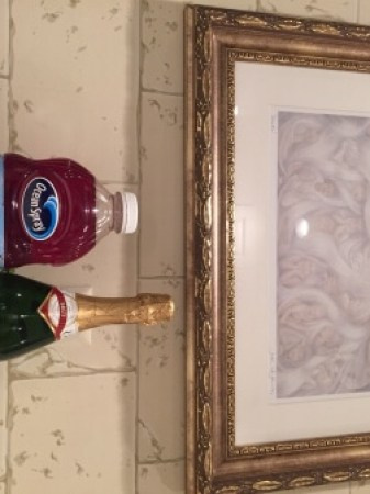 holiday drinks: champagne cocktail ingredients