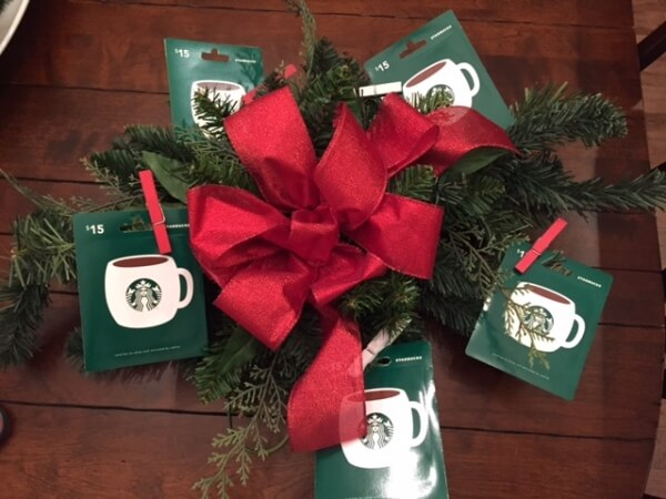 Coffee Lovers Wreath Gift