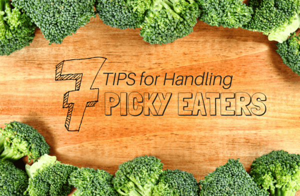 7 Tips for Handling Picky Eaters @katieserbinski