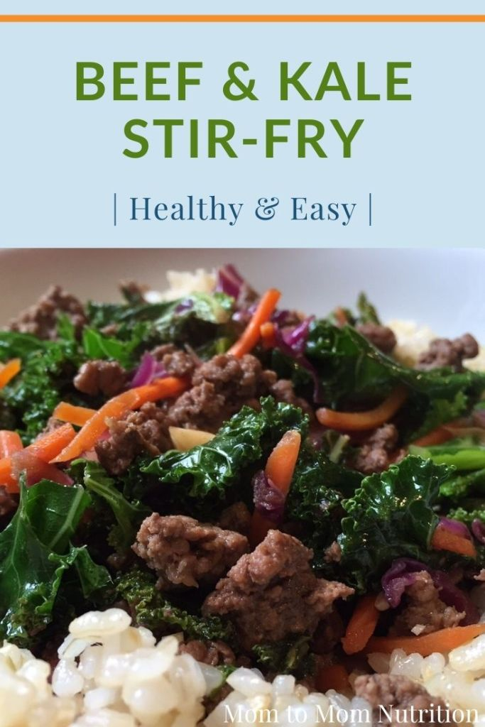 Ready in less than 30 minutes, this beef and kale stir-fry makes THE ideal nutritious and family-pleasing weeknight meal.