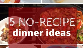 5 No-Recipe Meals I'm Loving Right Now
