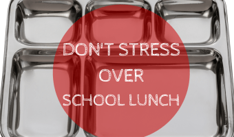 Don't Stress Over School Lunch [+ Joey's Favorite Lunches]