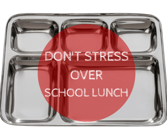 Don't stress over packing your kids a gourmet school lunch everyday. With simple foods you can ensure they are getting the nutrition they need throughout the school day.