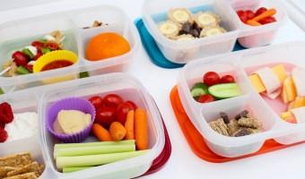 4 Non-Sandwich School Lunch Ideas