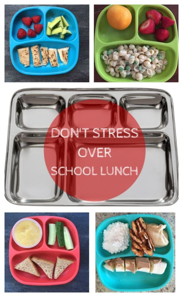 With simple foods and a short go-to list, you can make a healthy school lunch and ensure your kids are getting the nutrition they need for the school day.