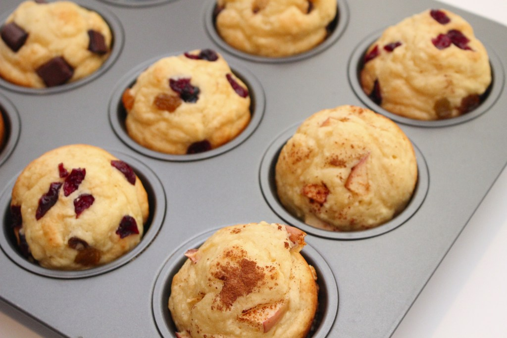 Pancake muffins are the perfect lazy morning breakfast or afternoon snack. They taste just like a pancake in muffin form, without having to worry about the flipping and cooking time of standard pancakes!