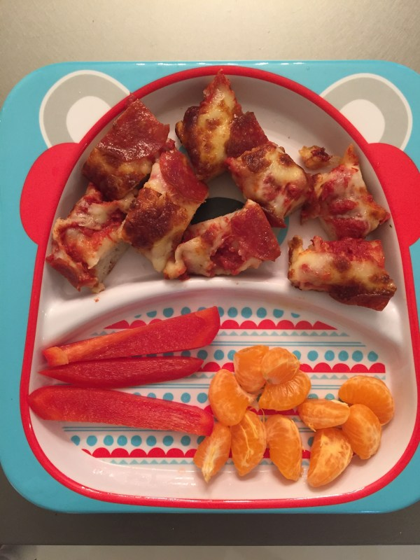 Here's how we balance pizza with other good-for-you ingredients in our house!