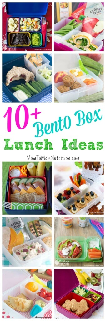 Change up your kid's everyday lunch with these fun, healthy bento box lunch ideas.
