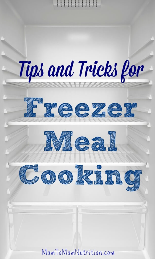 Learn the basics of making freezer meals so you don't have to cook every night to have a delicious and nutritious meal on hand.