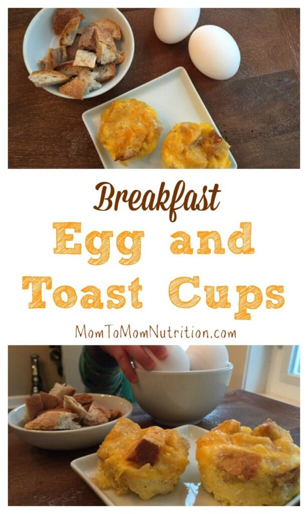 These egg and toast cups are the perfect finger food breakfast for kids. They also serve as a portable breakfast for busy mornings.