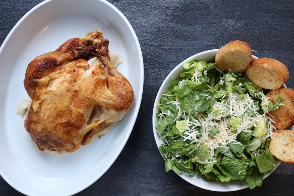Rotisserie chicken caesar salad recipes