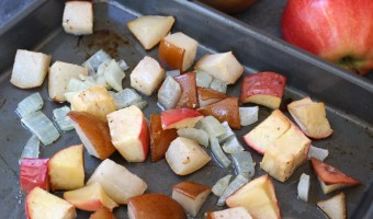 Oven-Roasted Apples and Pears with Onions