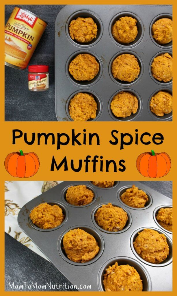 These pumpkin spice muffins are super moist and taste just like the many flavors of fall! They make a great snack or sweet treat for holiday parties.