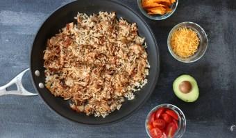 Salsa Chicken Skillet Dinner