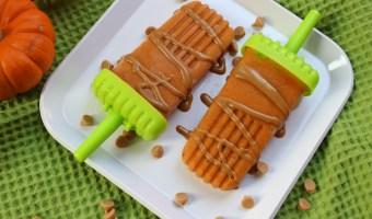 Pumpkin Spice Popsicles