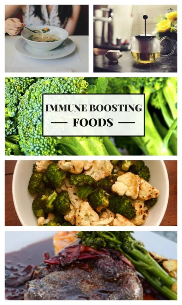 Fight-off germs and strengthen your immune system this cold and flu season with these 7 immune boosting foods!