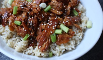 Bring out your slow cooker and pantry staple ingredients for a sweet and spicy sesame chicken thighs recipe!