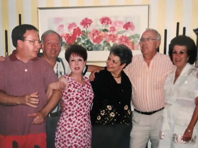 Last year we lost my Dad's brother Joe and sister Nina, both pictured here with him and a few of their cousins. Uncle Joe is on the far left and my Aunt Nina is in the floral dress. Side note: the cousins in the pic are Nina, Joe, and Joy. Apparently you weren't a Caputo unless your name was Nina or Joe ;)
