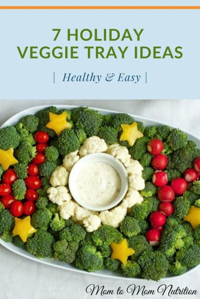 Holiday veggie trays are designed for Thanksgiving and Christmas celebrations. Both healthy and fresh, vegetable trays are perfect for a holiday snack, appetizer, or side! #holidayveggietrayideas #holidayveggietrayappetizer #christmasholidayveggietrayideas