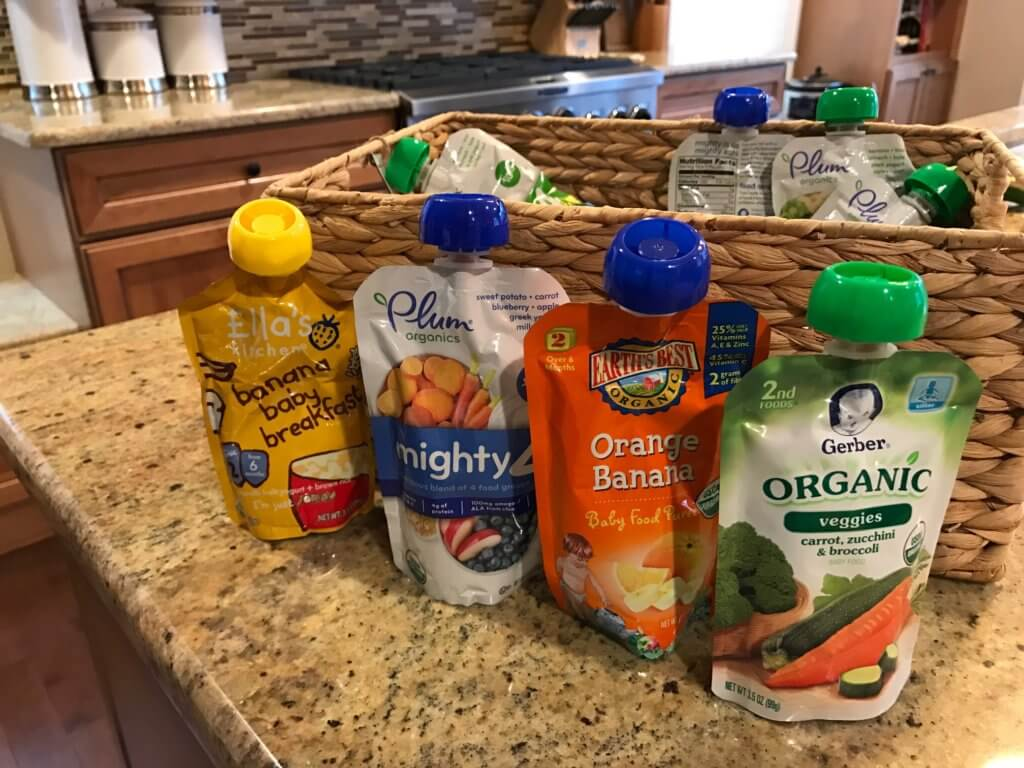 Are baby food pouches worth all the hype?! Here's an honest review and a reason why I give them to both my baby and toddlers!