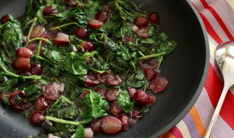 Kale Grape Skillet