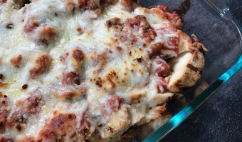 Meal Prep Recipe: Grilled Chicken Parmesan