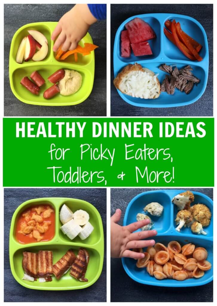 Have a picky eater in the house? Then give these 10 dinner recipes a try! No promises, but there's a lot to be said about serving lots of variety and flavor!