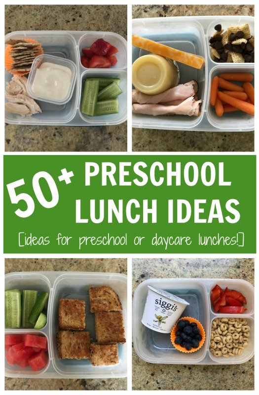 These preschool lunch ideas will inspire you to change-up your lunch-packing routine and get your child exposed to a variety of new and healthy foods!