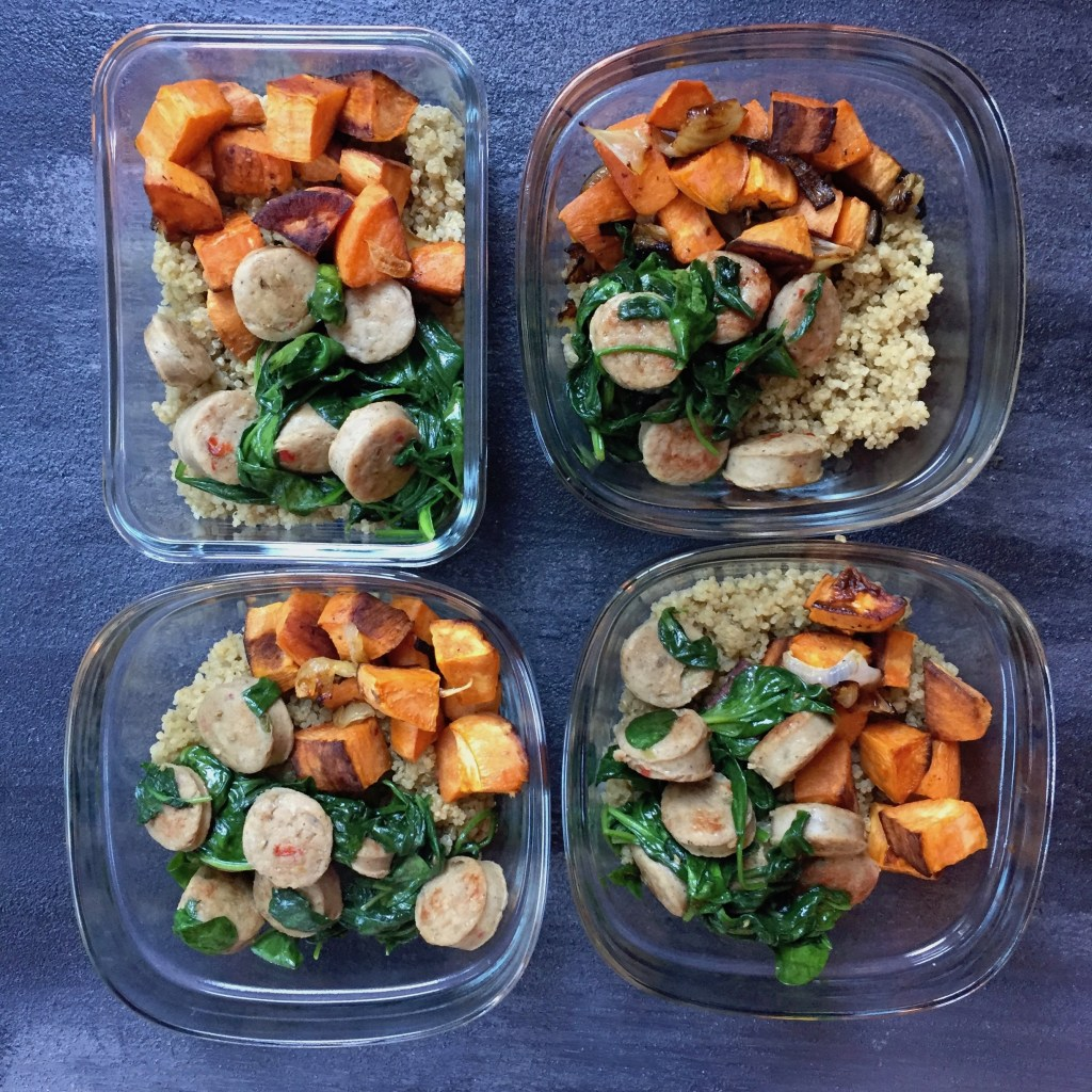 Take 30 minutes on the weekend to make one or both of these make-ahead meal ideas, perfect for a reheatable lunch or dinner.