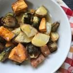 Roasted Vegetables with Orange Glaze