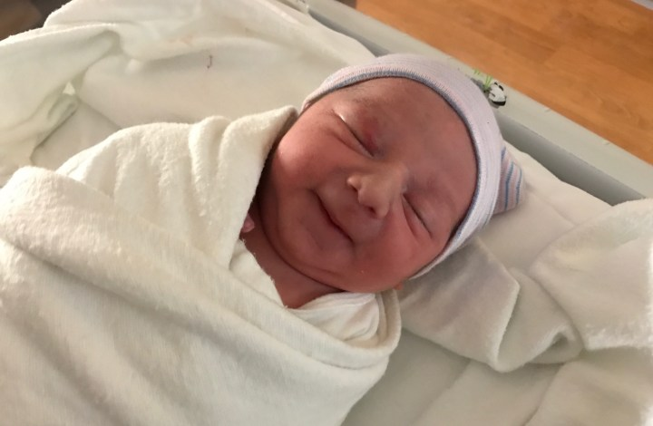 Michael's Birth Story + Mom's Unexpected Hospital Stay