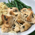 A mix of dried herbs and fresh Parmesan cheese make this Slow Cooker Herb Chicken a simple pantry staple meal with minimal prep and plenty of flavors!