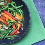 Veggie Sauté with Garlic and Soy Sauce is one simple, fresh side dish made in just under 15 minutes and is customizable with your families favorite veggies!