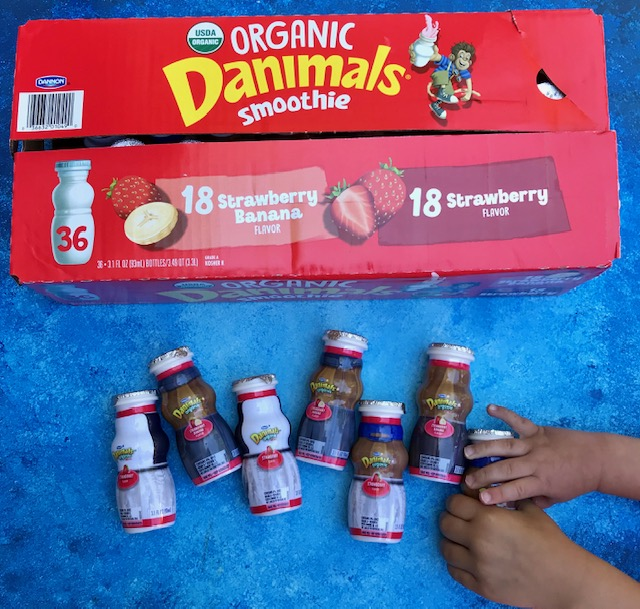 #AD Danimals®​ Organic Drinkable Smoothies found @costco make the perfect outdoor snack because of packaging, flavor, and nutrition. #Danimals #DanimalsSmoothies