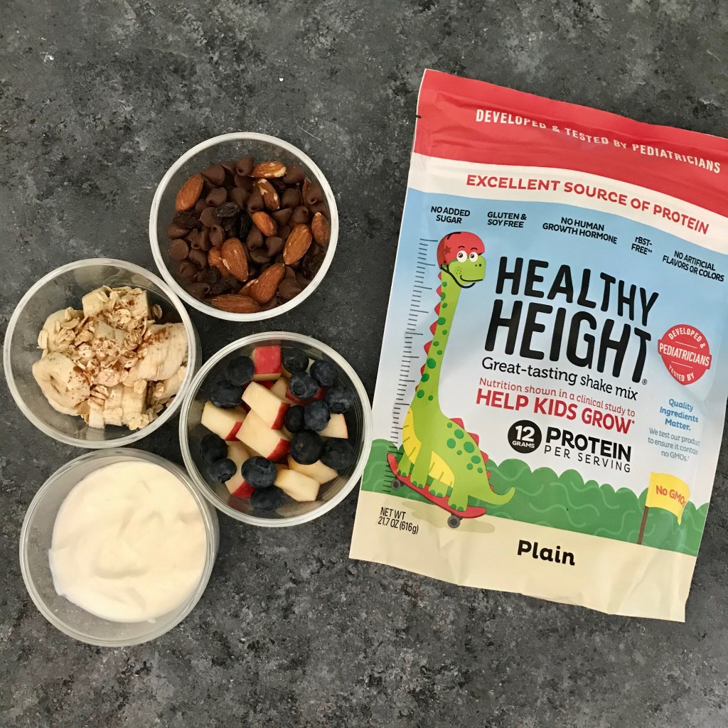 Make ahead yogurt parfaits are an easy breakfast or snack option on the go. Protein-packed and totally customizable based on your family's favorite topping.