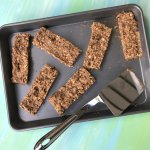 Oatmeal Raisin Cookie Bars make the perfect grab and go treat, made ahead breakfast, or post-dinner snack. All you need is a few simple ingredients for the healthy homemade taste of a cookie in bar form!