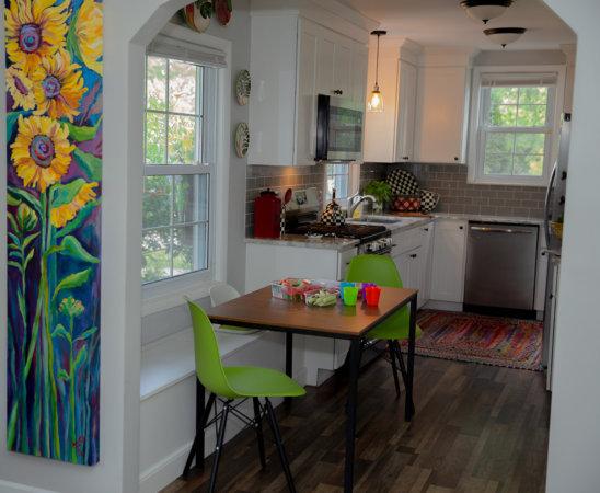 Katie Serbinski's kitchen.