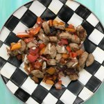 Skillet Sausage and Peppers is a quick, colorful dinner ready in less than 20-minutes. All you need is a few staple ingredients and a hot skillet, and dinner is ready!
