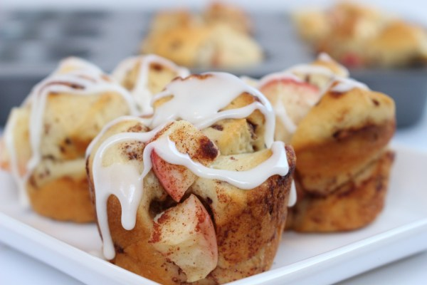 Mini monkey bread muffins.