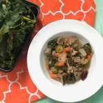 Celebrate strength, wealth, and health in the new year with Beef, Beans, and Greens Soup. Packed with nutrition and made with the ease of leftover beef roast.