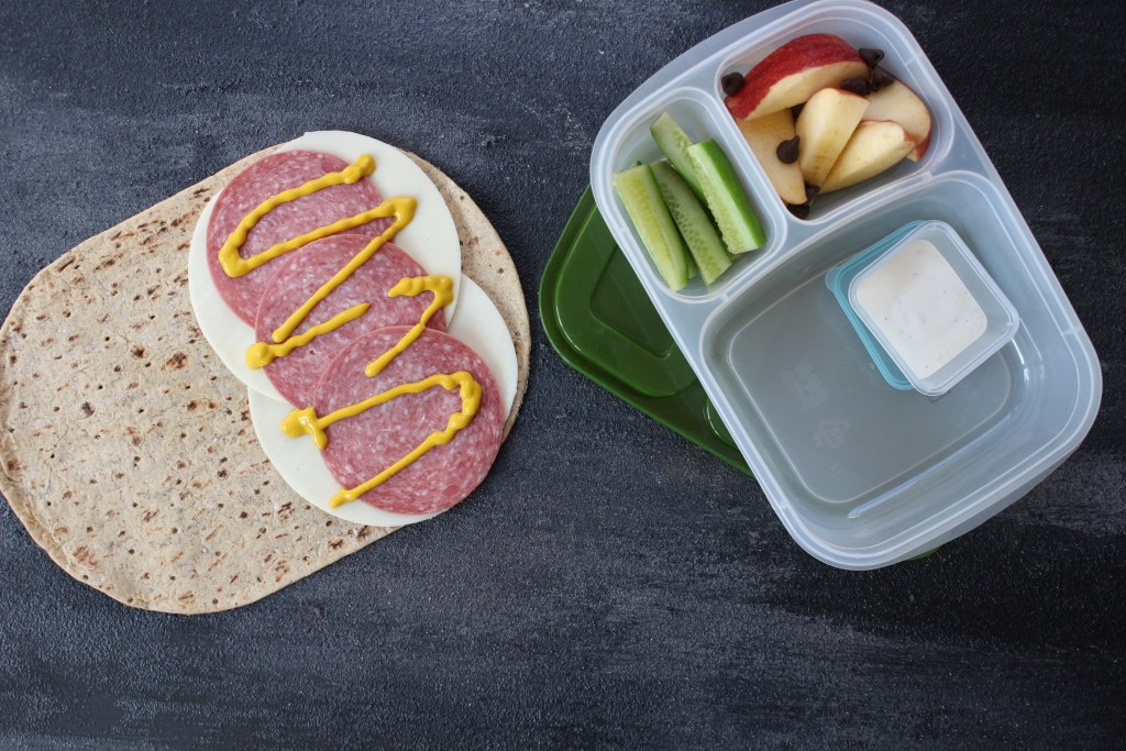 Mix and match wrap and sandwich combinations for toddlers, kids, and adults.