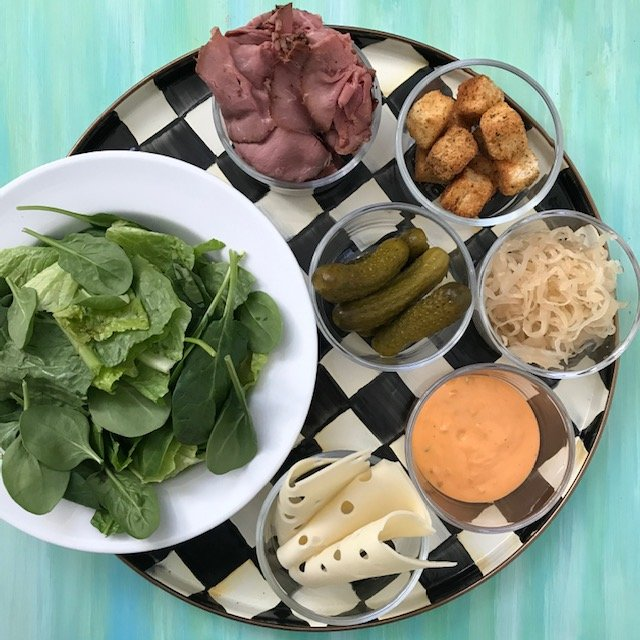 Today's Homemade Reuben Salad is just that: A Reuben sandwich deconstructed in salad form. Light, good for you, and packed full of nutritious ingredients.
