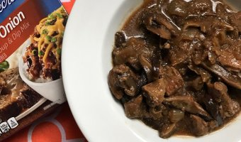Get a nutritious dinner on the table with minimal ingredients and little kitchen prep with Slow Cooker Beef Tips and Mushrooms.