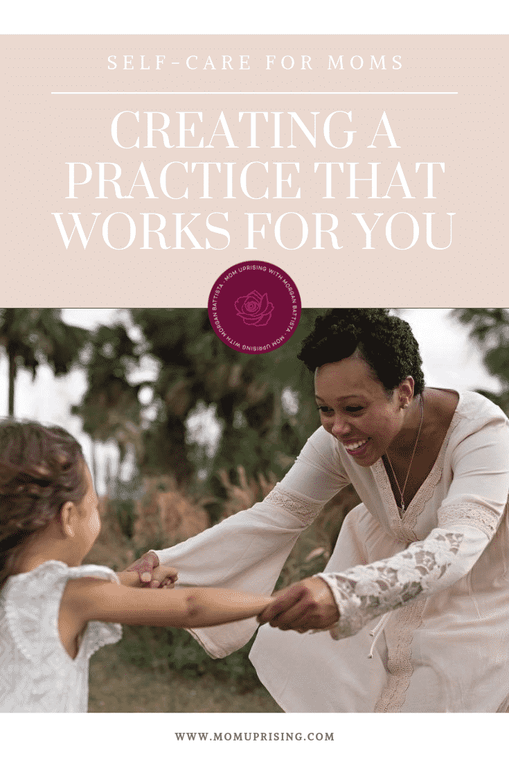 Learning to practice self-care for moms. How this mom began a self-care practice during a traumatic pregnancy, and now helps other moms do the same. Self-care for moms isn\'t a luxury. Self-care for moms is a necessity.