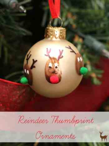 10 Awesome ideas for Reindeer Ornaments Kids can Make! || Letters from Santa Holiday Blog