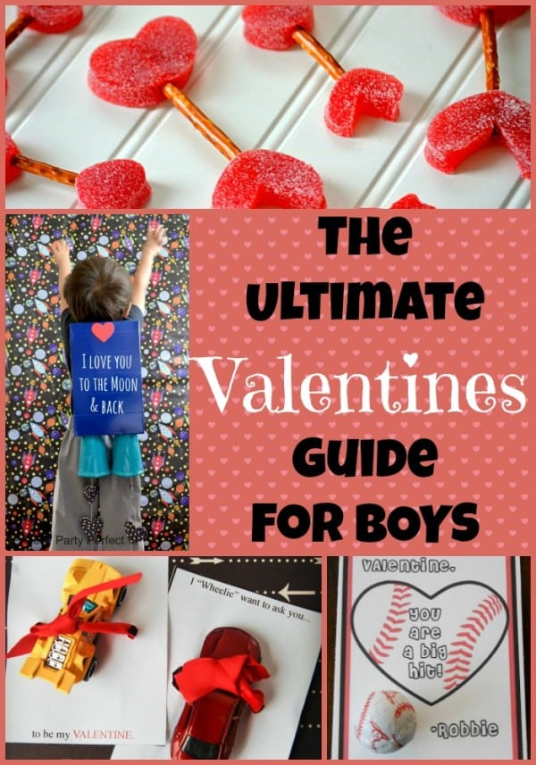 The Ultimate List Of Valentine Ideas For Boys