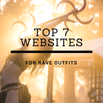 It's festival season! The most exciting season of the year. Now all you need is the perfect outfit. These 7 websites have amazing outfits to choose from! #ravewear #rave #festivalseason #festivals