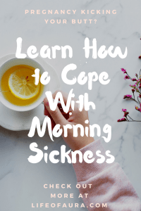 Nausea is rough. just like the 1st trimester of pregnancy. Find out how to cope with morning sickness at momwhoraves.com. #pregnancy #morningsickness #howto #1sttrimester
